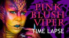 Pink Blush Viper Makeup