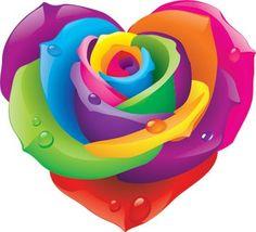 Lisa Frank Rose Heart