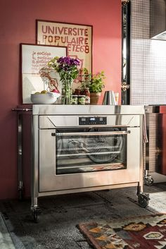 Alpes Inox - BUILT-IN ELECTRIC OVEN 90 - Built-in electric oven 90 cm wide with 104 litre chamber made of stainless steel.