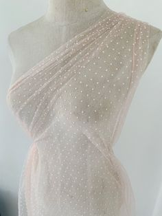 Pink Tulle, Tulle Fabric, Tulle Lace, Mesh Fabric, Embroidered Lace Fabric, Nude Color, Woman Fashion, Fabric Material, White Lace
