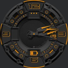 Overload watch face preview