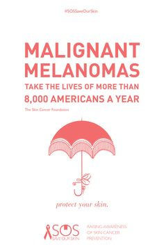 #skin #fact: Malignant melanomas take the lives of more than 8,000 Americans a year.