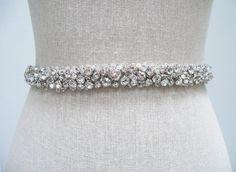 Felicity Bridal Belt - SparkleSM Bridal Sashes