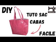 Le Sac Dragon - Cabas - Tutoriel Couture Débutant - YouTube Blog Couture, Dragon, Tote Bag, Sewing, Bags, Dragons, Totes, Tote Bags