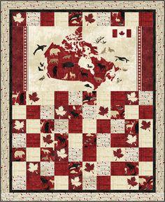 Love this Canada quilt!