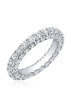 www.myhabit.com  Glittering band encrusted with round crystals on 3 sides