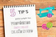 5 TIPS QUE TE AYUDARÁN A CUMPLIR TUS PROPÓSITOS COSTURILES DE AÑO NUEVO via @armandskarlett
