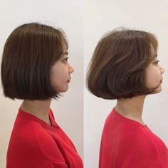 Japanese Short Hair, Asian Short Hair, Girl Short Hair, Short Hair Cuts, Hair Job, Girl Haircuts, Hairstyles Haircuts, Cool Hairstyles, Asian Bob Haircut