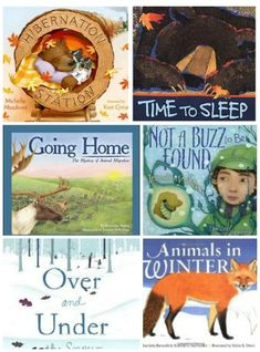 Engaging books about hibernation and migration along with a some fun hands-on activities for kids!