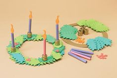 Advent Wreaths- can purchase a kit/make your own