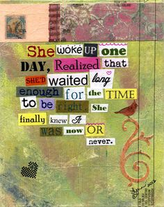 Take a leap of faith and choose recovery. The time is now. Always now. #edrecovery #courage #faith