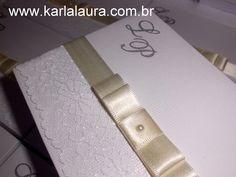 Karla Laura Convites, Lembranças e Papelaria Personalizada: Caixa para Pais e Padrinhos - Lícia e Pedro