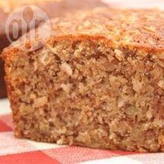 Recipe photo: Banana coconut loaf cake