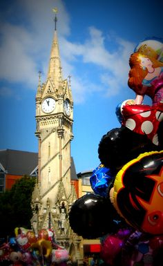 Leicester Clock Tower the only place we ever meet at Time In The World, Places Around The World, Leicester England, Homes England, Big Building, Unique Clocks, Tic Toc, Colouring Pics, Beautiful Streets