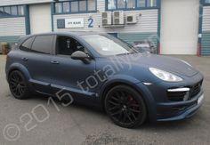 matte midnight blue | Matte Midnight Blue Car Porsche cayenne fully wrapped in a dark blue ...