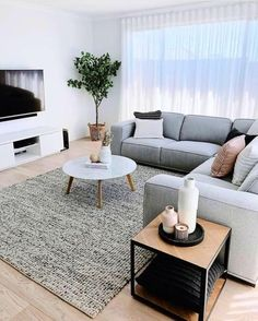 Living Room Decor Cozy, Home Decor Bedroom, Home Living Room, Cozy Living, Home Room Design, Living Room Designs, Small Room Design, Small Apartment Living, Cozy Apartment Decor