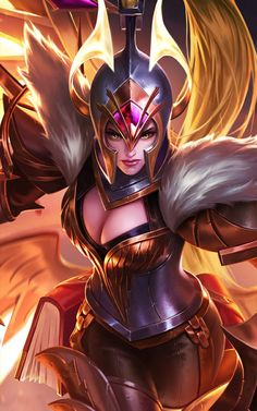 War Angel Freya Mobile Legends