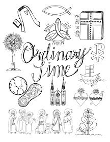 Easy to understand, quick coloring sheet about the