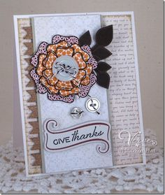Card by Maureen Plut using Great Friend and Die Sidekicks from Verve Stamps. #vervestamps