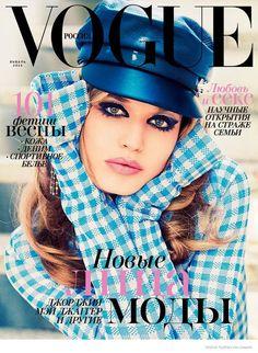 Georgia May Jagger is a Flower Child for Ellen Von Unwerth in Vogue Russia