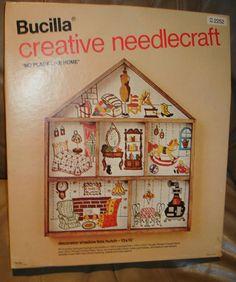 Bucilla Kit Hutch No Place Like Home Shadow Box