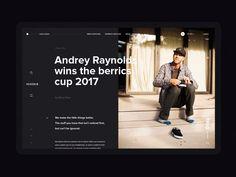 NIXON web site / Concept / Article