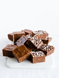 chocOlate condensed milk candy crumb fudge