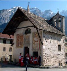 Chiesetta di Sant'Orsola, Vigo di Cadore, Belluno Dolomiti Veneto Italia