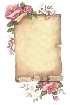 Vintage printable frame with roses Papel Vintage, Vintage Cards, Vintage Paper, Vintage Dolls, Vintage Pictures, Vintage Images, Molduras Vintage, Writing Paper, Vintage Labels