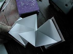 Lotus & Lunar ~ Lunar New Year: Wishing Book ~ How a concertina book is constructed ~ Tutorial