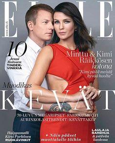 Minttu and Kimi Räikkösen for Elle Finland April 2017