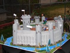 Castle Project Success Story - School Project - How To Diorama - School Display