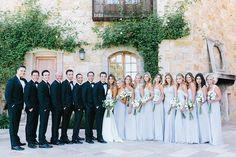 Photography: Luna de Mare - lunademarephotography.com Groomsmen's Attire: The Black Tux - http://theblacktux.com Bridesmaids' Dresses: Amsale - http://amsale.com Read More on SMP: http://www.stylemepretty.com/2015/09/21/intimate-summer-sunstone-villa-wedding/