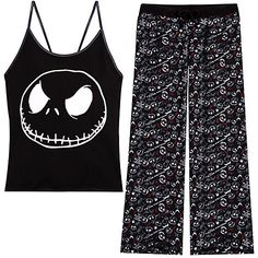 The Nightmare Before Christmas Pajama Set for Women | Sleepwear | Women | Disney Store