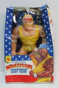 International Wrestling Championship Giant Figure Hulk Hogan
