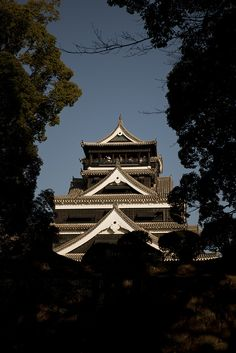 Kumamoto castle, Japan: photo by dataichi, via Flickr