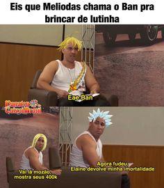 Kkkk Memes Pt, Funny Memes, C Anime, Otaku Meme, Seven Deadly Sins Anime, Gamers, Chanbaek, Naruto Shippuden, Haha
