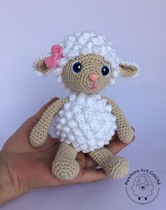 Elfin Thread- Teddy Bear Amigurumi PDF Pattern (Teddy Bear crochet PDF pattern) ElfinThread USD October 16 2015 atThis Pin was discovered by AnnRabbit Baby Blanket MakingBest 12 Buttercup Lamb curtain tieback crochet PATTERN right or – SkillOfKing. Crochet Animal Patterns, Stuffed Animal Patterns, Crochet Patterns Amigurumi, Amigurumi Doll, Crochet Animals, Crochet Dolls, Crochet Sheep, Easter Crochet, Kawaii Crochet