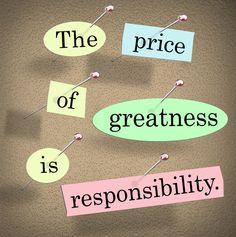 A responsabilidade enquanto gestor ou responsável por uma equipa é traçar caminho. Quando nós queremos chegar a todos, conhecer todos, aprofundar relacionamentos com todos, quando temos equipas muito grandes (500 pessoas para cima) fica difícil conhecer todas as pessoas e entrar neste nível de relação – Não é viável: http://www.checkthisout.me/a-responsabilidade-na-gestao +info: http://atrairclientes.com/