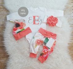 Hey, I found this really awesome Etsy listing at https://www.etsy.com/listing/501951343/baby-girl-coming-home-outfit-baby-girl