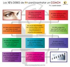 ¿Qué debe tomar en cuenta Recursos Humanos para contratar a un #Coach?  #CoachingIntegral   www.humanpotential.com.mx