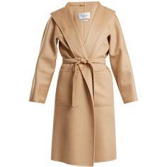 Max Mara Lilia coat ($5,090) ❤ liked on Polyvore featuring outerwear, coats, camel, calf-length coats, maxmara coat, midi coat, wool cashmere coat and beige coat