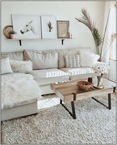 Boho Living Room, Cozy Living Rooms, Home And Living, Living Room Furniture, Home Furniture, Wooden Furniture, Furniture Ideas, Furniture Design, Modern Living