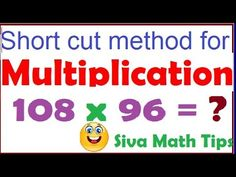 Easy short cut method for Multiplication of  numbers which are  near to ...