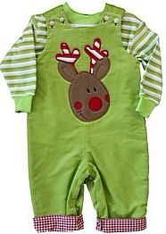 GRINCH HAND APPLIQUE SHIRTS   Red Hand Smocked Christmas Tree Long Sleeve Bishop with Lime Green ...