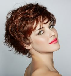women's short haircut 2016 for thick wavy hair - Google Search