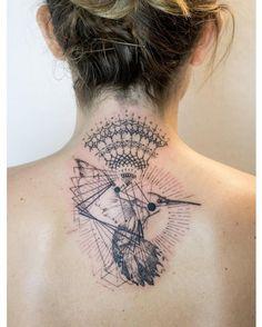 """Mowgli en Instagram: """"'Elapsicfication' by Mowgli #avantgarde #tattoo #tattoos…"""
