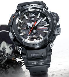 Presenting you the new Casio G-Shock Gravitymaster GPW2000-1A GPS bluetooth connected. Packing Bluetooth connectivity, GPR Hybrid Wave Ceptor technology in a fully analog display dial.