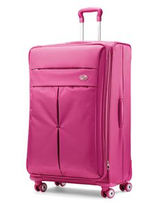 Raspberry American Tourister Colora Spinner #PackingSpree!