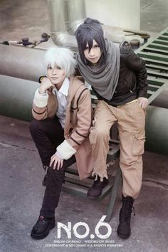 Anime/manga: No. 6 Characters: Shion and Nezumi, I LOVE THIS ANIME/MANGA SOOOO MUCH!
